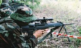 Lính bắn tỉa Trung Quốc kết thúc đợt huấn luyện
