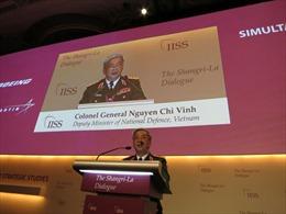 Thứ trưởng Nguyễn Chí Vịnh phát biểu tại Đối thoại Shangri-La 12