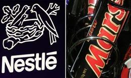 Nestle và Mars bị cáo buộc thao túng giá sôcôla