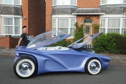 Lột xác cho xe hơi bằng vật liệu tái chế
