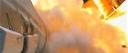 Xem tên lửa đẩy phóng từ góc 'độc'