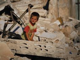Trẻ em Syria bị sử dụng làm bia đỡ đạn
