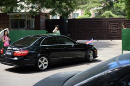 Quan chức Triều Tiên đến Nga