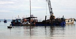 Thu 268 thùng hiện vật từ tàu cổ đắm ở Quảng Ngãi