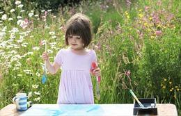 Kiệt tác của cô bé 3 tuổi mắc chứng tự kỷ