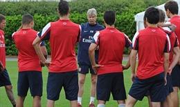 Arsenal rèn thể lực trước tour châu Á