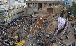 Sập khách sạn, gần 30 người thương vong