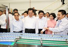 Thủ tướng dự lễ khánh thành Nhà máy sữa tươi TH Nghệ An