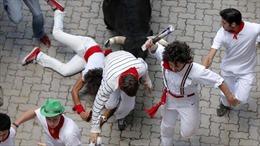 Chạy đua cùng bò tót, hàng chục người bị thương