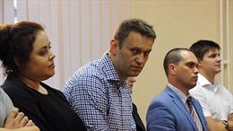 Biểu tình phản đối bỏ tù thủ lĩnh đối lập tại Nga
