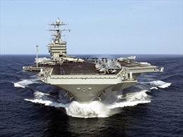Mỹ điều tàu sân bay hạt nhân tới Vịnh Persic