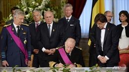 Vua Bỉ truyền ngôi cho Thái tử Philippe