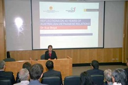 Cựu Đại sứ Sue Boyd: Quan hệ Australia- Việt Nam phát triển vượt bậc