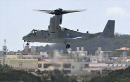 Mỹ tăng cường 12 trực thăng Osprey cho căn cứ Nhật