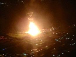 Rực lửa nổ liên tiếp tại nhà máy khí đốt Mỹ