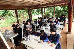 Đào tạo nghề lao động DTTS còn hạn chế