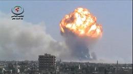 Nố kho vũ khí Syria, 40 người thiệt mạng