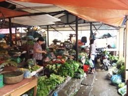 Giá rau quả tại Hà Nội tăng mạnh sau bão