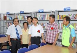 Ngân hàng NongHyup tài trợ xây thư viện trường học