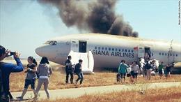 Asiana đền tạm 10.000 USD mỗi hành khách máy bay 'gẫy đuôi'