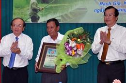 U Minh Thượng nhận chứng chỉ Vườn di sản ASEAN