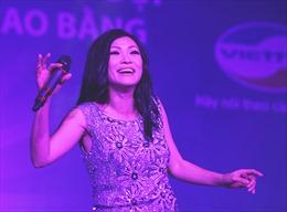 Phương Thanh được cổ vũ nồng nhiệt tại Cao Bằng