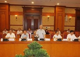 Ban Bí thư làm việc với Ban Thường vụ Tỉnh ủy Kon Tum