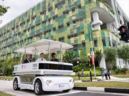 Singapore thử nghiệm xe điện không người lái