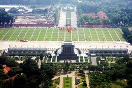 Tạm dừng viếng lăng Chủ tịch Hồ Chí Minh
