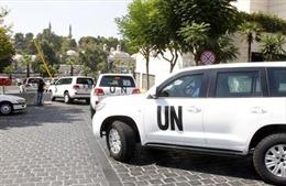 Thanh sát viên LHQ bị lính bắn tỉa Syria tấn công