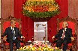 Tổng Bí thư Nguyễn Phú Trọng tiếp Tổng thống CH Seychelles