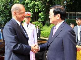 Tổng thống Cộng hòa Seychelles thăm Việt Nam