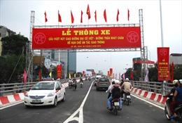 Cầu vượt Trần Khát Chân - Đại Cồ Việt đi vào hoạt động