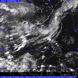 Khả năng có 3 cơn bão trên Biển Đông tháng 9