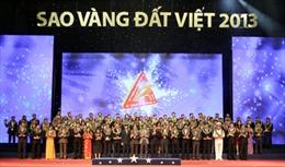 Tôn vinh 200 thương hiệu Sao Vàng đất Việt 2013
