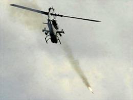 Máy bay Syria không kích quân nổi dậy tại Damascus