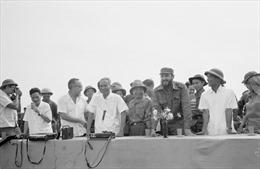 Ra mắt sách ảnh Fidel Castro - Quảng Trị một ngày lịch sử 1973