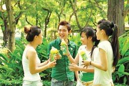 Uống trà xanh cho sức sống xanh