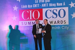 Trao giải lãnh đạo công nghệ thông tin Đông Nam Á