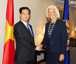 Thủ tướng tiếp Tổng Giám đốc IMF