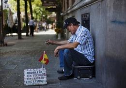 'Điểm đen' thất nghiệp trong nền kinh tế Tây Ban Nha