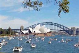 Sắc màu lễ hội Trình diễn Hải quân Quốc tế tại Australia
