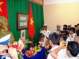 Quân, dân đảo Sơn Ca tưởng niệm Đại tướng