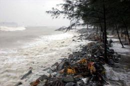 Trước bão, hai thiếu niên bị sóng cuốn ra biển
