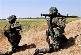 Đấu súng ác liệt giữa quân đội Syria và phiến quân