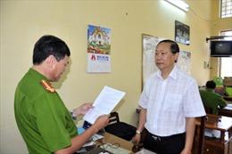 Khởi tố nguyên Chủ tịch UBND huyện Hồng Ngự, Đồng Tháp