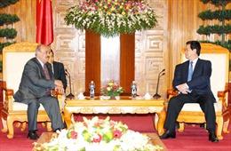 Thủ tướng Nguyễn Tấn Dũng tiếp Phó Thủ tướng Kuwait
