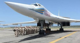 Nga chuyển giao 2 máy bay ném bom Tu-160 cho Venezuela