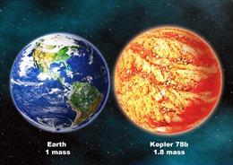 Ngoại hành tinh có khối lượng và mật độ vật chất tương tự Trái Đất