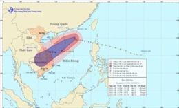 Tin bão trên biển Đông - cơn bão số 12